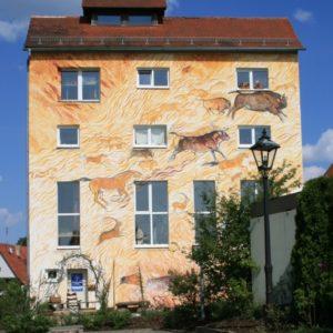 die brennende Wand Hollfeld